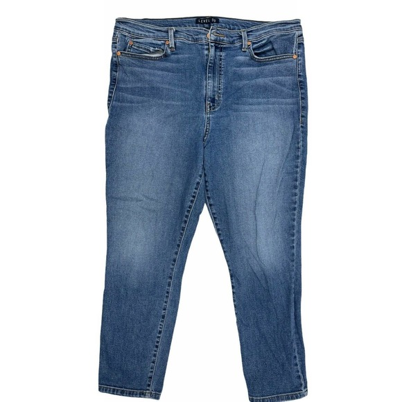 Anthropologie Level 99 High Rise Skinny Jeans 16
